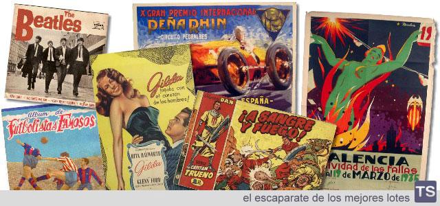 tseleccion, el escaparate de los mejores lotes de antigüedades, arte y coleccionismo