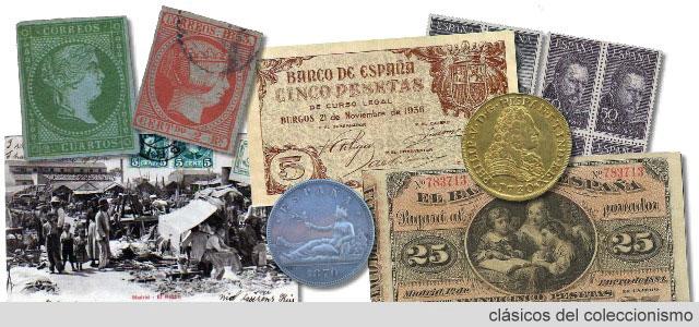 Sellos, monedas, filatelia, numismática   Coleccionismo clásico